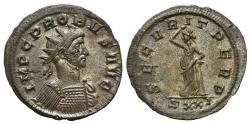 Ancient Coins - Probus (276-282). Radiate. Ticinum, AD 279.  R/ Securitas