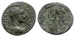 Ancient Coins - Hadrian (117-138). Pisidia, Selge. Æ - R/ Bow