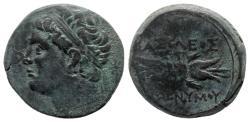 Ancient Coins - Sicily, Syracuse. Hieronymous (215-214 BC). Æ