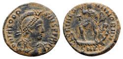 Ancient Coins - Theodosius I (379-395). Æ - Cyzicus