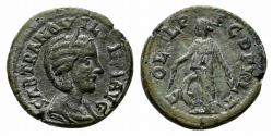 Ancient Coins - THRACE, Deultum. Tranquillina. Augusta, AD 241-244. Æ 22mm RARE