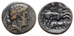 Ancient Coins - Spain, Bolskan (Osca), c. 150-100 BC. Æ Unit