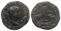 Ancient Coins - Trebonianus Gallus (251-253). Moesia Inferior, Viminacium. Æ - year 13