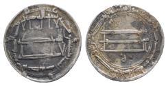Ancient Coins - Abbasids, al-Rashid (AH 170-193 / AD 786-809). AR dirham. al-Muhammadiya, 192 AH.