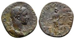 Ancient Coins - Severus Alexander (222-235). Æ Sestertius - Rome - R/ Providentia