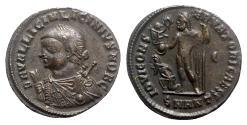 Ancient Coins - Licinius II (Caesar, 317-324). Æ Follis - Antioch - R/ Jupiter