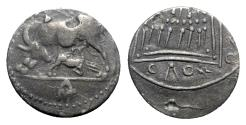Ancient Coins - Illyria, Apollonia, c. 120/00-80/70 BC. AR Drachm