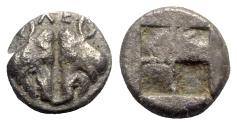 Ancient Coins - Lesbos, Unattributed early mint, c. 500-450 BC. BI 1/12 Stater, Boar.