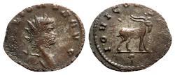 Ancient Coins - Gallienus (253-268). Antoninianus - Rome - R/ Goat