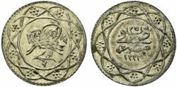 World Coins - Egypt, Ottomans. Qirsh. AH 1223, year 25