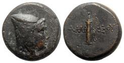 Ancient Coins - Pontos, Amisos, c. 125-100 BC. Æ