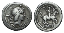 L. Valerius Acisculus, Rome, 45 BC. AR Denarius