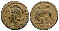 Ancient Coins - Commemorative Series, c. 330-354. Æ Follis (17mm, 2.68g, 12h). Antioch, 330-335.