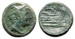 Ancient Coins - Roman Republic - Anonymous, Rome, 217-215 BC. Æ Semuncia
