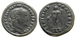 Ancient Coins - Galerius (305-311). Æ Follis - Cyzicus