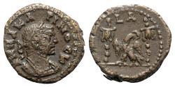 Ancient Coins - Carinus (Caesar, 282-283). Egypt, Alexandria. BI Tetradrachm, year 1