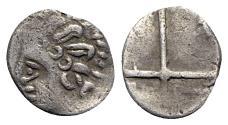 Ancient Coins - Gaul, Massalia, c. 1st century BC. AR Obol