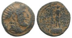 Ancient Coins - Seleukid Kings, Demetrios III Eukairos (97/6-88/7 BC). Æ 17mm