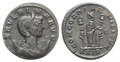 Ancient Coins - Severina (Augusta, 270-275). Antoninianus. Rome.  R/ Concordia