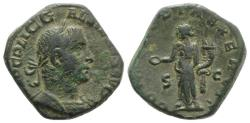 Ancient Coins - Gallienus (253-268). Æ Sestertius. Rome, 253-254. R/ CONCORDIA NICE PORTRAIT !