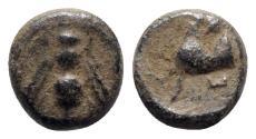 Ancient Coins - Ionia, Ephesos, c. 405-390 BC. Æ
