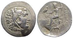 Ancient Coins - Troas, Alexandreia, c. 189-180 BC. AR Tetradrachm. In the name and types of Alexander III of Macedon. VERY RARE
