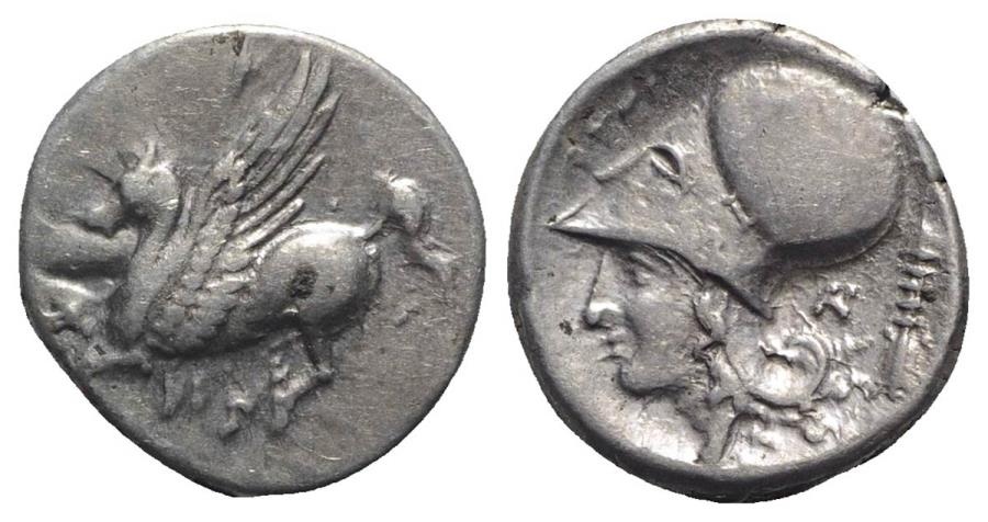 Ancient Coins - Akarnania, Anaktorion, c. 350-300 BC. AR Stater