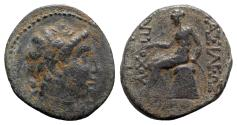 Ancient Coins - Seleukid Kings, Antiochos III 'the Great' (222-187 BC). Æ