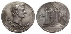 Ancient Coins - Augustus (27 BC-AD 14). AR Cistophorus - Pergamum