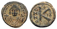 Ancient Coins - Maurice Tiberius (582-602). Æ 20 Nummi - Antioch