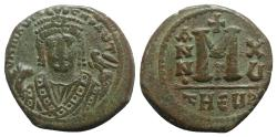 Ancient Coins - Maurice Tiberius (582-602). Æ 40 Nummi - Antioch, year 15