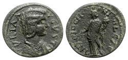 Ancient Coins - Julia Domna (Augusta, 193-217). Pisidia, Antioch. Æ - R/ Tyche