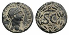 Ancient Coins - Trajan (98-117). Seleucis and Pieria, Antioch. Æ As 26.5mm. R/ Large SC