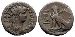 Ancient Coins - Nero (54-68). Egypt, Alexandria. BI Tetradrachm - year 11 - R/ Eagle