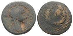 Ancient Coins - Augustus (27 BC-AD 14). Spain, Bilbilis. Æ As