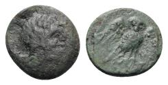 Ancient Coins - Northern Lucania, Velia, 4th-2nd centuries BC. Æ