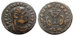 Ancient Coins - Divus Constantius I (died AD 306). Æ Follis - Londinium