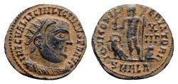 Ancient Coins - Licinius I (308-324). Æ Follis - Alezandria - R/ Jupiter