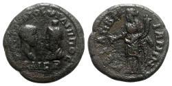 Ancient Coins - Philip II (Caesar, 244-247). Thrace, Mesembria. Æ- R/ Homonoia
