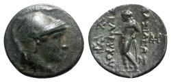 Ancient Coins - Seleukid Kings, Seleukos II (246-225 BC). Æ - Athena / Apollo