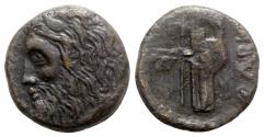 Ancient Coins - Skythia, Olbia, c. 310-280 BC. Æ