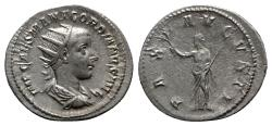 Ancient Coins - Gordian III (238-244). AR Antoninianus - Antioch - R/ Pax
