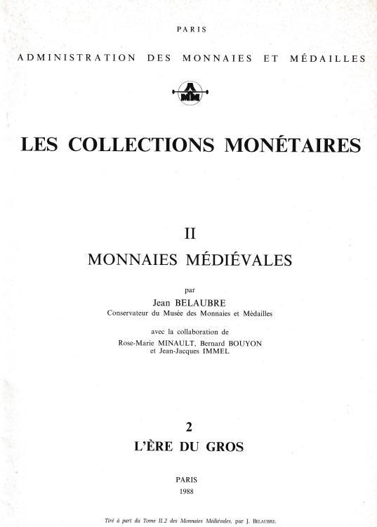 """Ancient Coins - Bachelard G., La politique monetaire de Philippe Auguste. Reprinted from """"Les Collections Monetaires II Monnaies Medievales"""""""