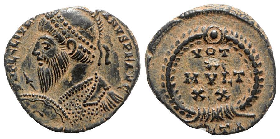 Ancient Coins - Julian II (360-363). Æ (17.5mm, 2.98g, 6h). Antioch, 361-3.