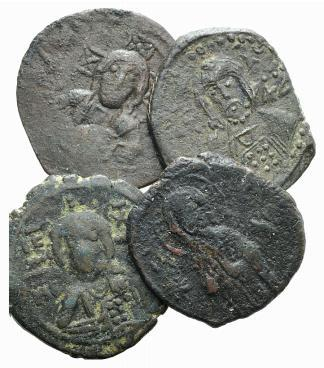 Ancient Coins - Lot of four Æ 40 Nummi