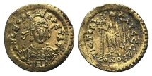 Ancient Coins - Leo I (457-474). GOLD Solidus. Constantinople, 462 or 466.