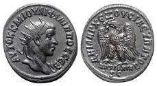 Ancient Coins - Philip II (Caesar, 244-247). Seleucis and Pieria, Antioch. AR Tetradrachm