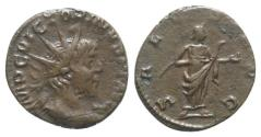 Ancient Coins - Victorinus (260-269). Radiate. Colonia Agrippinensis, 269/70. R/ SALUS
