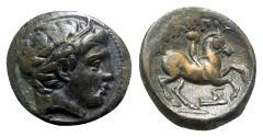 Ancient Coins - Kings of Macedon, Philip II (359-336 BC). Æ, Horseman.