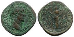 Ancient Coins - Antoninus Pius (138-161). Æ Sestertius - Rome - R/ Pietas